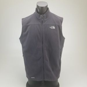 Gray The North Face Vest